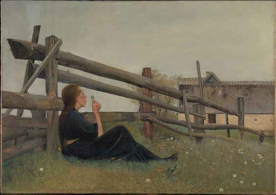 Laurits Andersen Ring (1854-1933), I juni måned - 1899