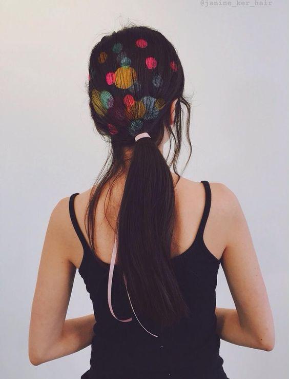 Graffiti Hair Technicolor – Fubiz Media