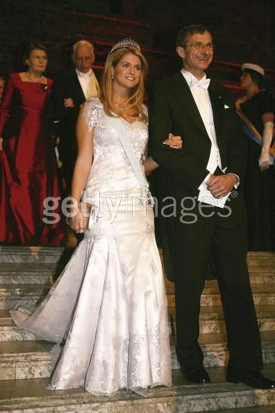 Princess Madeleine wore this tiara for the 2005 Nobel Prize Ceremony and Dinner.