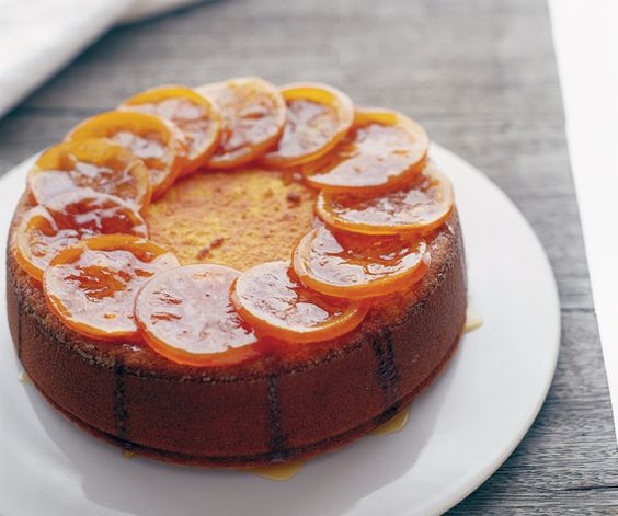 Karen Martini Orange Almond Cake Recipe