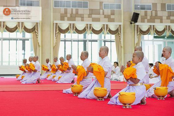 monk meditation บวชเข้าพรรษา บวชฟรี วัดธรรมกาย บวชแสน บวชล้าน บวชเณร บวชระยะสั้น concentration 静座 盘坐 禅定 meditative absorption 单盘坐ภาพดี 072 โครงการบวชพระทุกเดือน: ความเหมือน ที่แตกต่าง เมื่อ ครองผ้า กาสาววตฺถํ ผ้า...