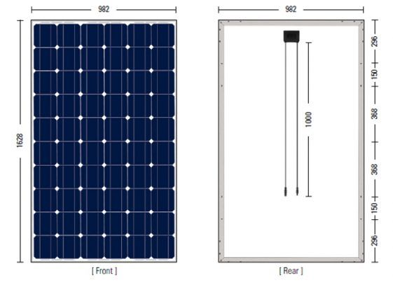 Guide To Solar Panel Size How Much Do You Need For Own Solar Panel System Our Solar Energy In 2020 Solar Panels Solar Panel System Solar