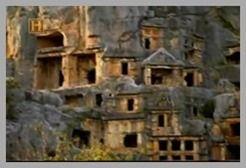 Necrópole da Cidade de Mira Atual-Turquia