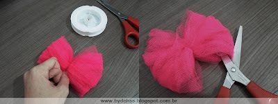 Bydehss: Pompom de tule - Pap