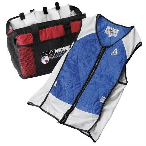 Ebay Advertisement Hyperkewl Hybrid Cooling Vest Blue Cooling Vest