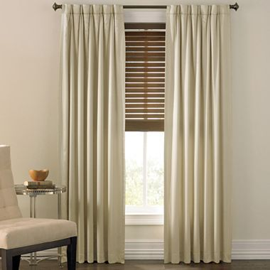 Curtains Ideas blackout pinch pleat curtains : Cindy Crawford Style® Prelude Pinch-Pleat Drapery Panel - jcpenney ...