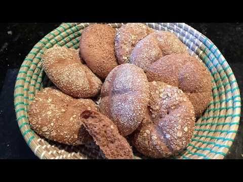 خبز القمح الخالص خبز مغربي بطريقة مميزة Youtube Food Breakfast Muffin