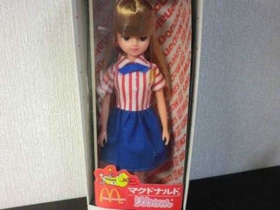 RARE Licca chan third generation McDonald's 1980s Japan kawaii HTF 275 #TAKARA #DollswithClothingAccessories