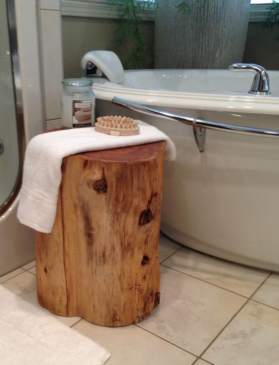 Stump Side Table, Kanata