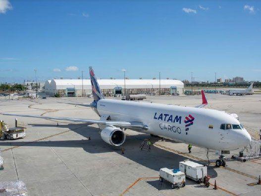 Latam Promotes Essential Goods Supply To Peru Air Cargo Peru Cargo
