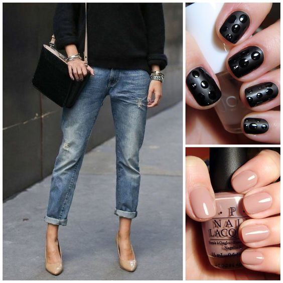 A Little Bit of Lacquer: Fall Knits + Nails