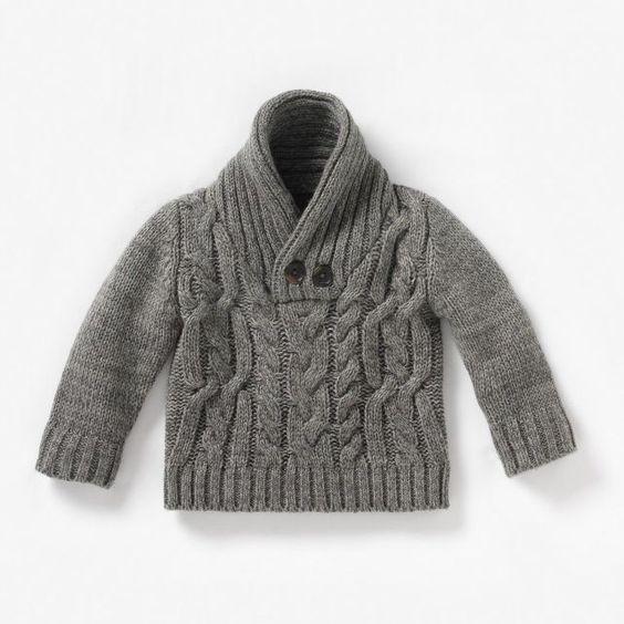 pull col ch le b b gar on cocoon tricot gar ons pinterest b b. Black Bedroom Furniture Sets. Home Design Ideas