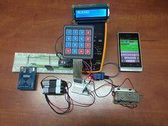 Make Your Own Arduino Rfid Door Lock Part 2 Unlock Using Your Smartphone Arduino Arduino Projects Door Locks