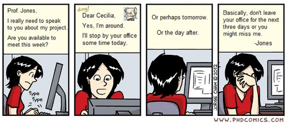 PHD Comics: I love grad school (by Jorge Cham 8/6/2012) #phd