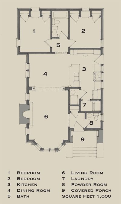 Bungalows Small Bungalow And Bungalow Floor Plans On