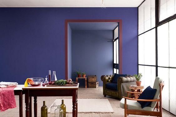 O violeta é uma cor sóbria que chega em destaque em 2013.