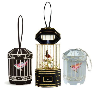 Birdcage handbags by Lulu Guinness
