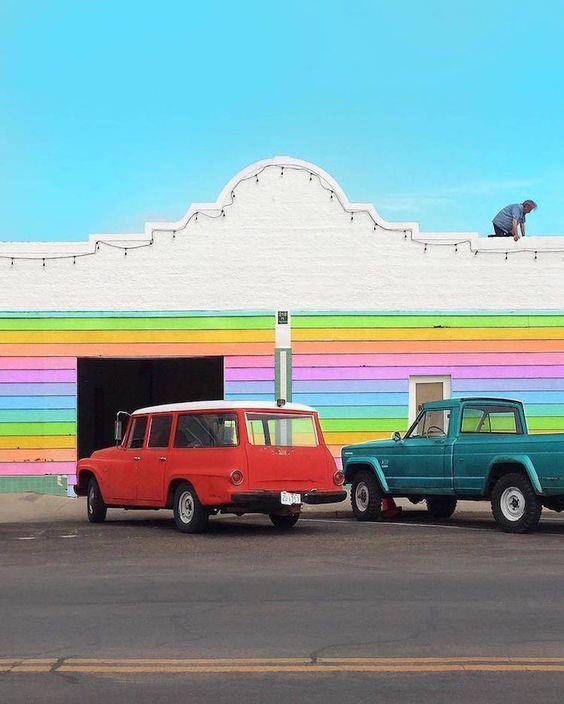 Ramzy Masri imagine des immeubles multicolores  2Tout2Rien