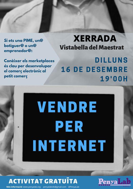 Xerrada 'Vendre per internet'