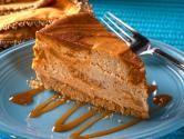 Cinnamon Swirl Sweet Potato Cheesecake