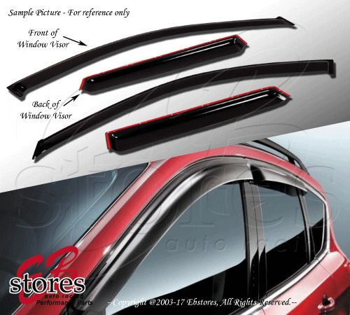 Vent Shade Window Visors 4dr Chevrolet Chevy Tahoe 00 06 2000 Visors Mitsubishi Lancer Toyota Camry