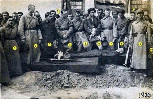 1926 Proshanie S Krasnoarmejcem Zastavy Artlu Tazakend Babushkinym History Azerbaijan