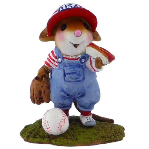 """What's better than baseball and hot dogs?! Limited until August 31, 2014. 1.25"""" x 1"""" 