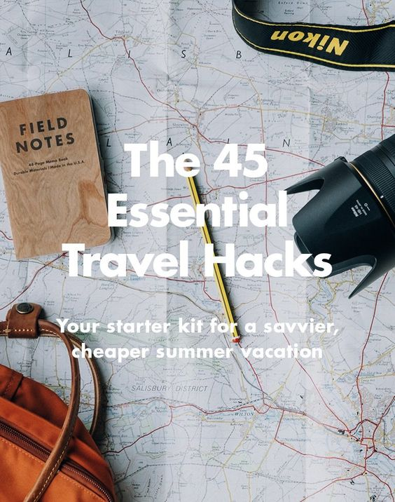 Your starter kit for a savvier, cheaper summer vacation