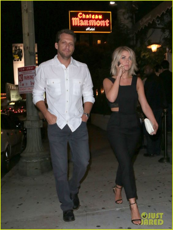 Julianne Hough Steps Out with Ari Sandel