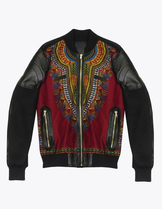 African Print Bomber | Alhassan Toure