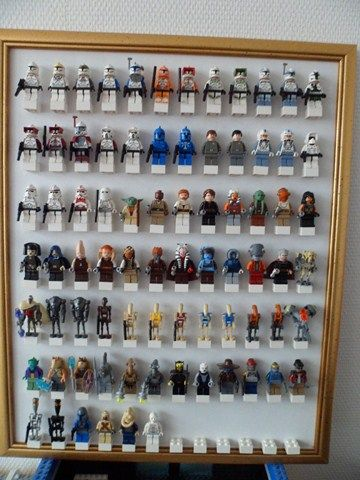 Guerre lego star wars and star wars on pinterest - Boite de rangement pour lego ...