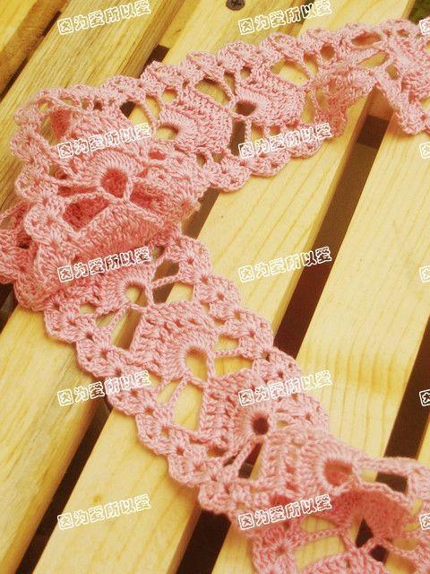 Crochet Knitting Handwerk: Charming Schal