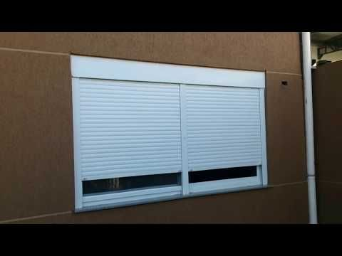 Automatic Window Rolling Shutters Bangalore Remote Control Window Roller Shutters Youtube In 2020 Rolling Shutter Roller Shutters Shutters