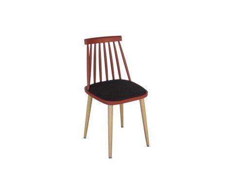 Chaise Plastique Pieds Bois Design Scandinave Inspiree Grand Designer En 2020 Chaises De Salle A Manger Design Chaise Chaise De Salle A Manger