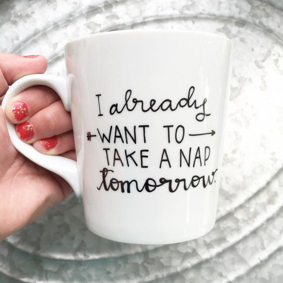 Nap Tomorrow Mug | Plus Size Life