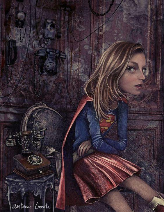 I need a Hero, Superwoman | Antonio Lorente: