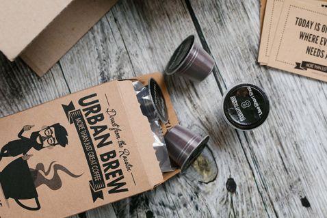 Coffee Pods Coffee Capsules I Urban Brew Coffee Capsules Coffee Pods Fair Trade Coffee