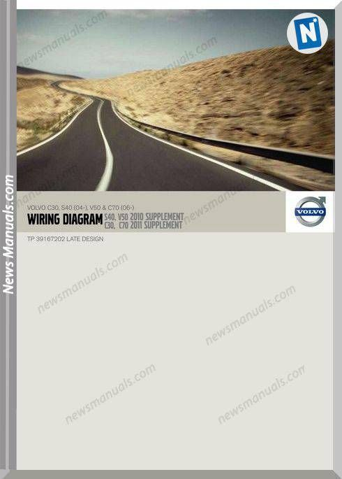 Volvo 2010 Supplement C30 S40 04 V50 C70 06 Wiring Diagram Volvo Volvo Xc60 Diagram
