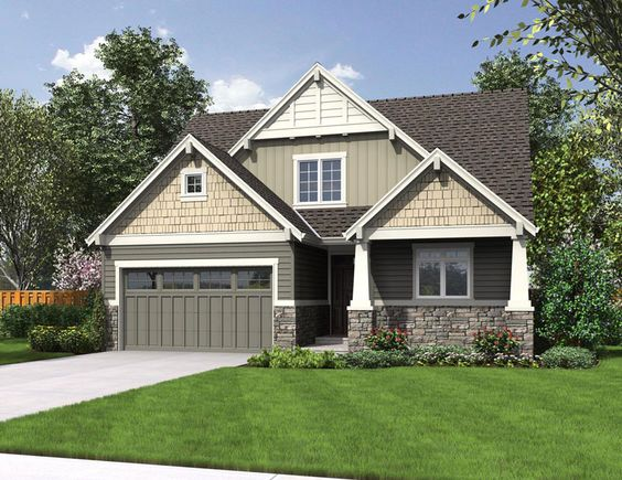 Brand New House Plan Perfect For A Narrow Lot And