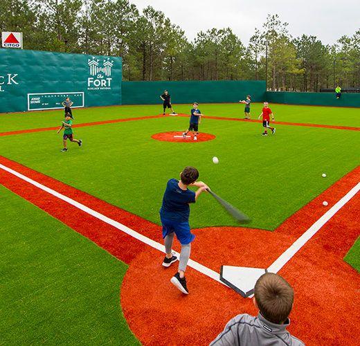 Bluejack National The Fort Wiffle Wiffle Ball Backyard Baseball