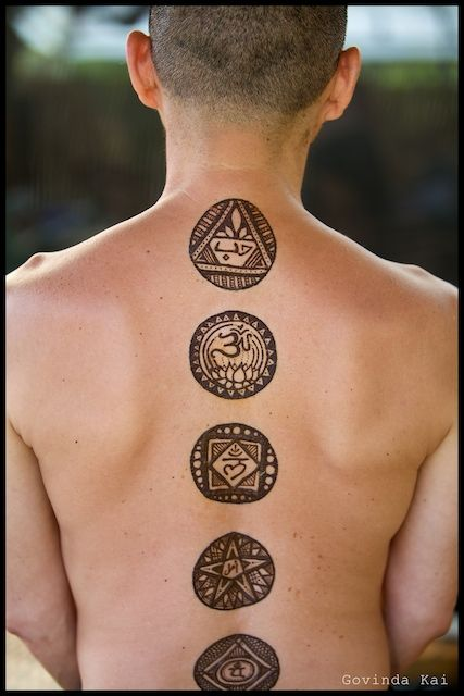 Canvas govinda kai occasion raw food permaculture for Henna tattoos locations