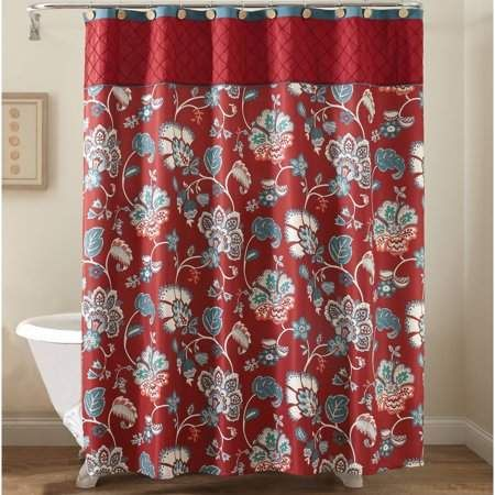 dbdb5b8a01d1457577249001a4168bbe - Better Homes And Gardens Medallion Shower Curtain