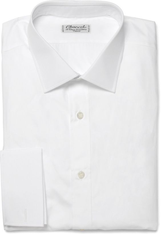 White Dress Shirt by Charvet. Buy for $515 from MR PORTER