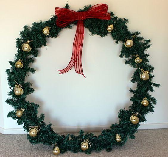 20+ Hula hoop garland christmas tree inspirations