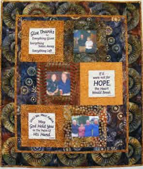 Free Memory Photo Quilt Patterns | six quotes to comfort those left behind by the death of a loved one or ...