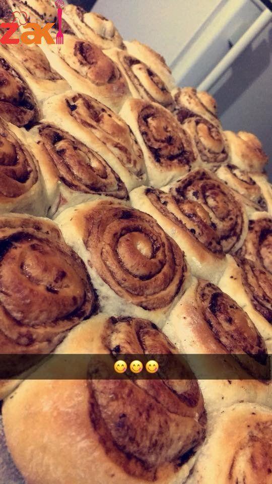 طريقة عمل السينابون زاكي Recipes Best Dishes Sweet Pastries