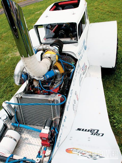 700 hp 4bt in a model A mud racer