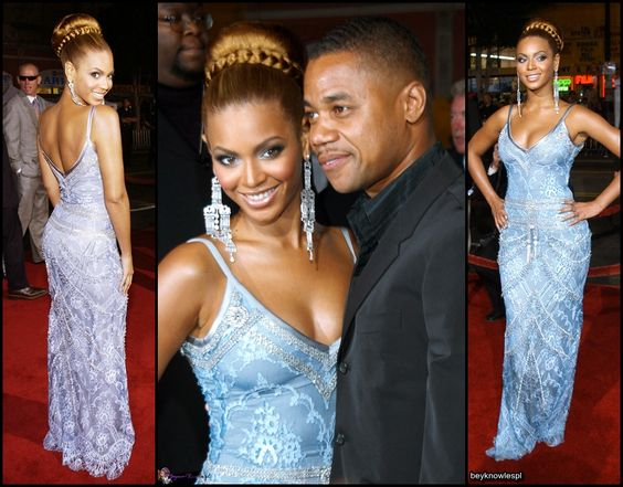 Bey At  The Fighting Temptations Premiere, 2003