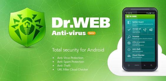 Dr.Web Anti-virus Light.Highest rating in antivirus application in Google play store