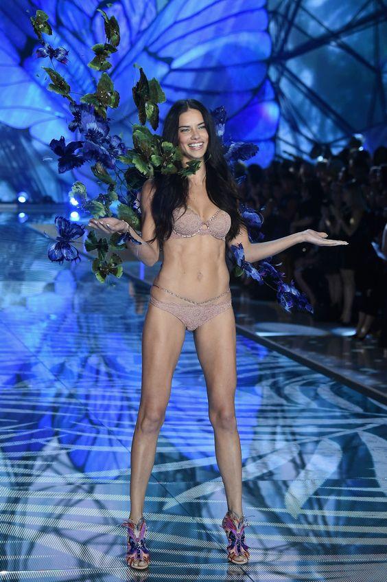 Adriana Lima - Victoria's Secret Fashion Show 2015 | Harper's Bazaar